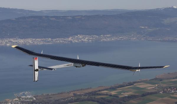 Sıfır yakıtla uçan ilk dört motorlu uçak, dünya turuna çıkıyor