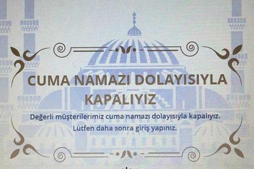 Osmanlı torununun sitesi cuma namazı sırasında kapanıyor!