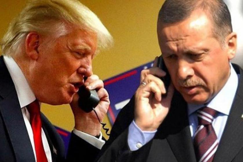 Erdoğan-Trump görüşmesinde 'yakın işbirliği' vurgusu