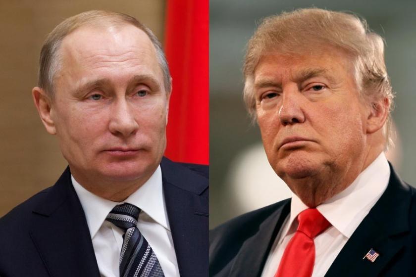 Putin, Trump ile Filistin-İsrail krizinin çözümünü konuştu