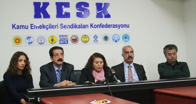 KESK: Torba yasanın müjdesi Ermenek'te çıktı