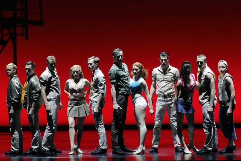 Dünyaca ünlü müzikal West Side Story İstanbul'da sahnelendi