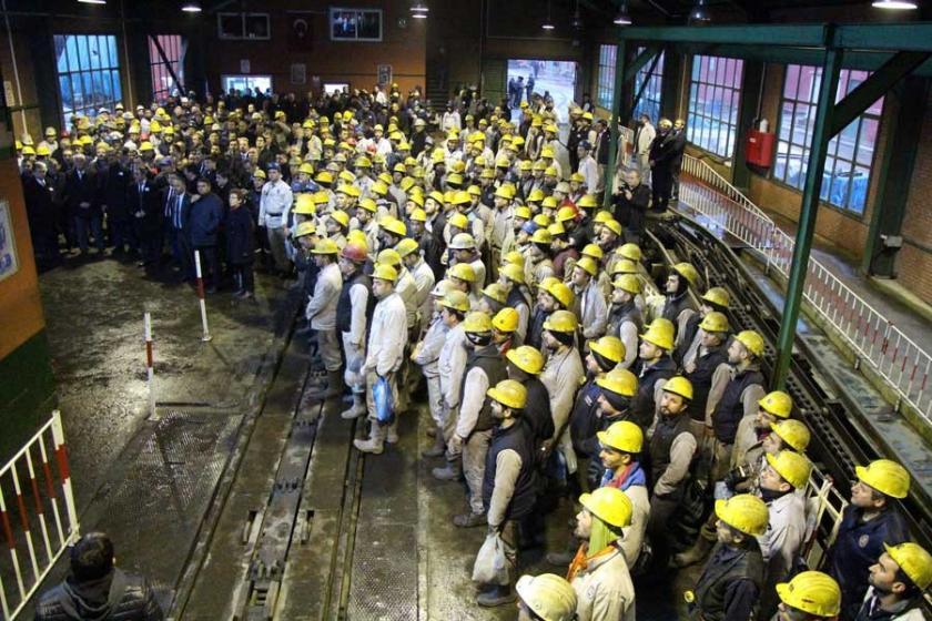 Kozlu'da maden katliamında yitirilen 263 işçi anıldı