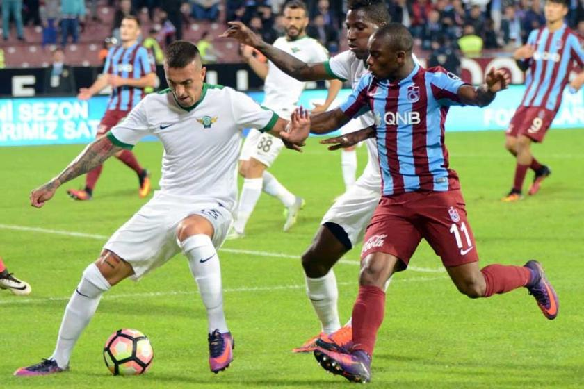 Trabzonspor, Akhisar deplasmanında