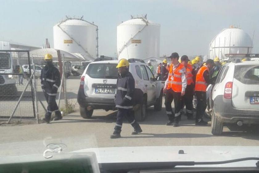 Star Rafineri'de Hindistanlı işçiler iş durdurdu