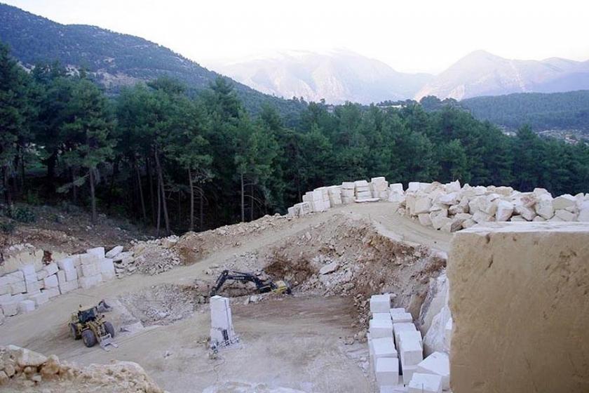 Mermer ocağının 25 hektar hilesini Danıştay bozdu