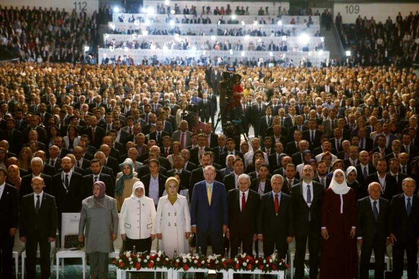 Erdoğan başkanlığındaki, AKP MYK toplantısı 6 Haziran'da