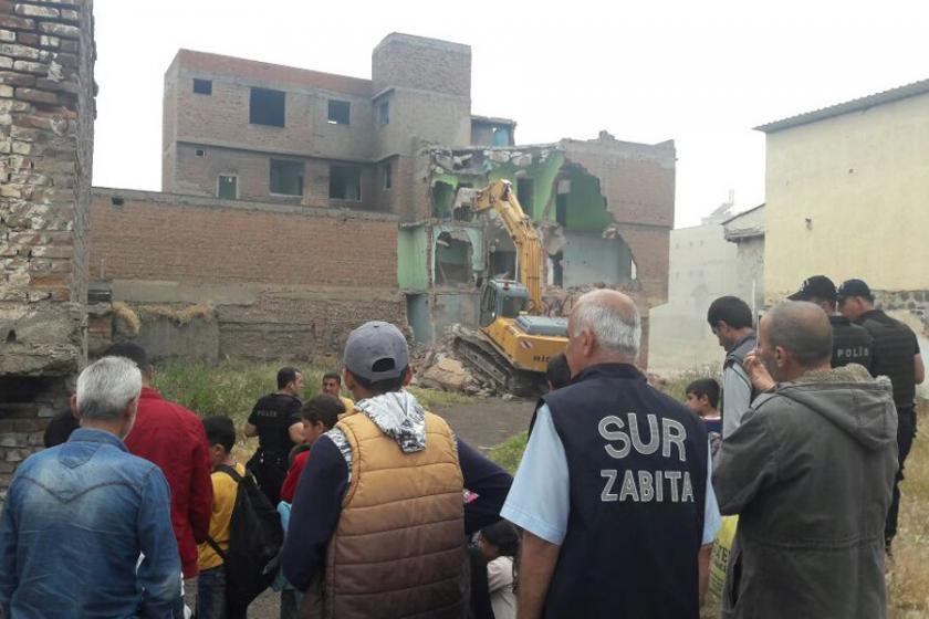İMO Diyarbakır Şubesi: Sur'da yıkımları durdurun