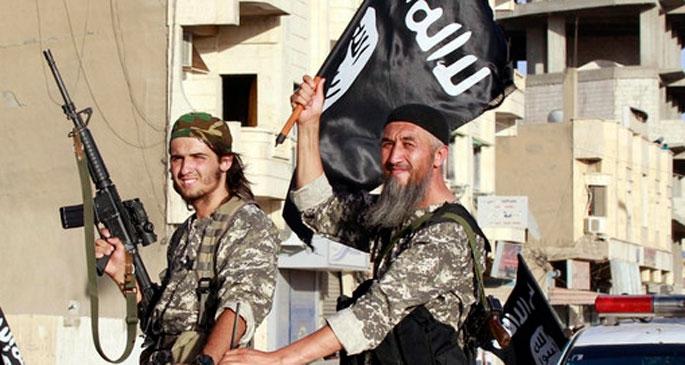 IŞİD el Şair doğal gaz tesislerini ele geçirdi