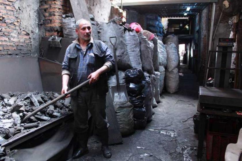 Kömür depolarında 70 TL'ye zehir soluyorlar