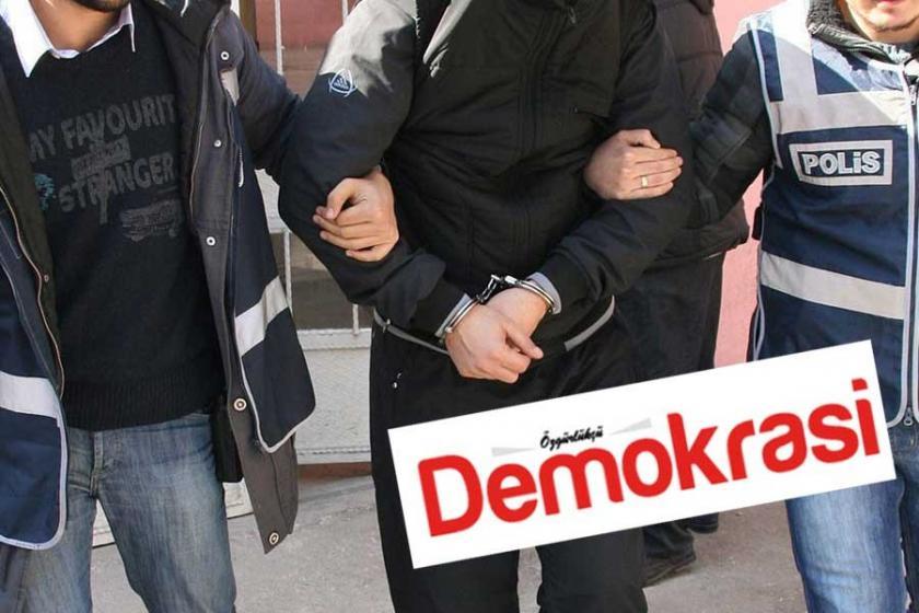Özgürlükçü Demokrasi gazetesine ve matbaasına polis baskını