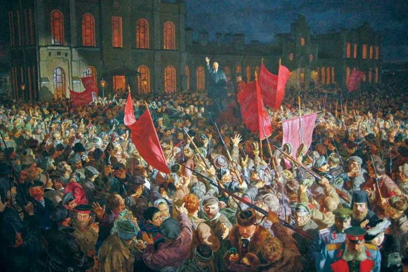 'Ekim Devrimi dün değil gelecektir'