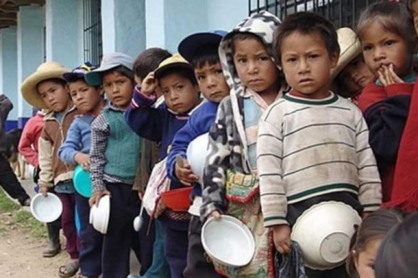Kolombiya'da bir haftada 8 çocuk yetersiz beslenmeden öldü