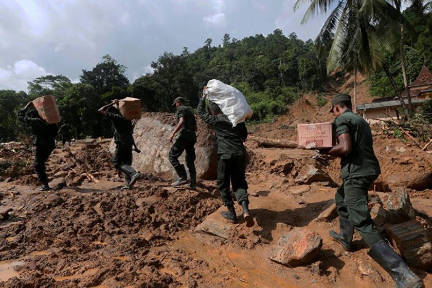 Sri Lanka'da sel: 146 ölü, 112 kişiden haber alınamıyor