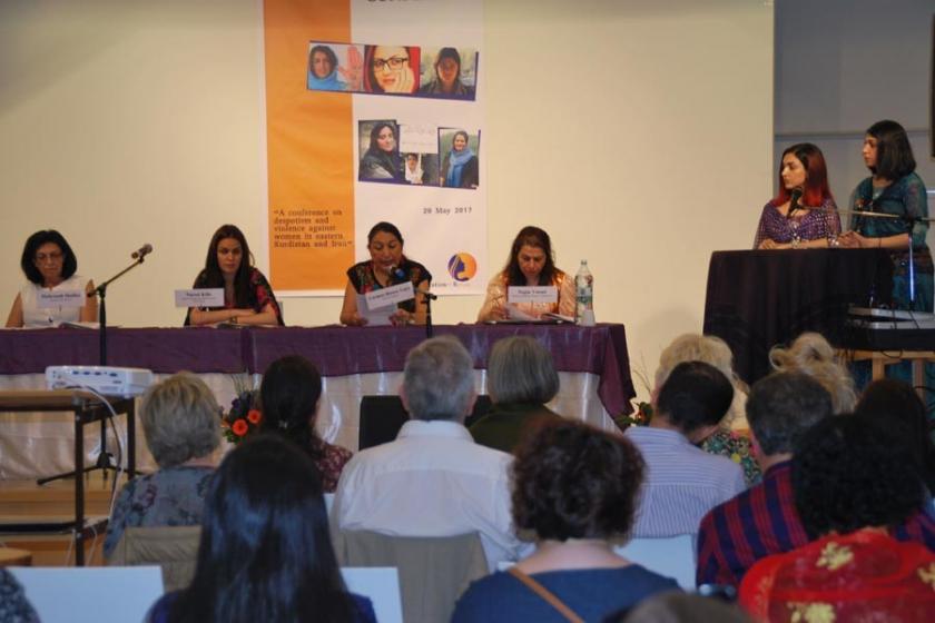 Kadınlar İran'da yaşanan hak ihlallerini tartıştı