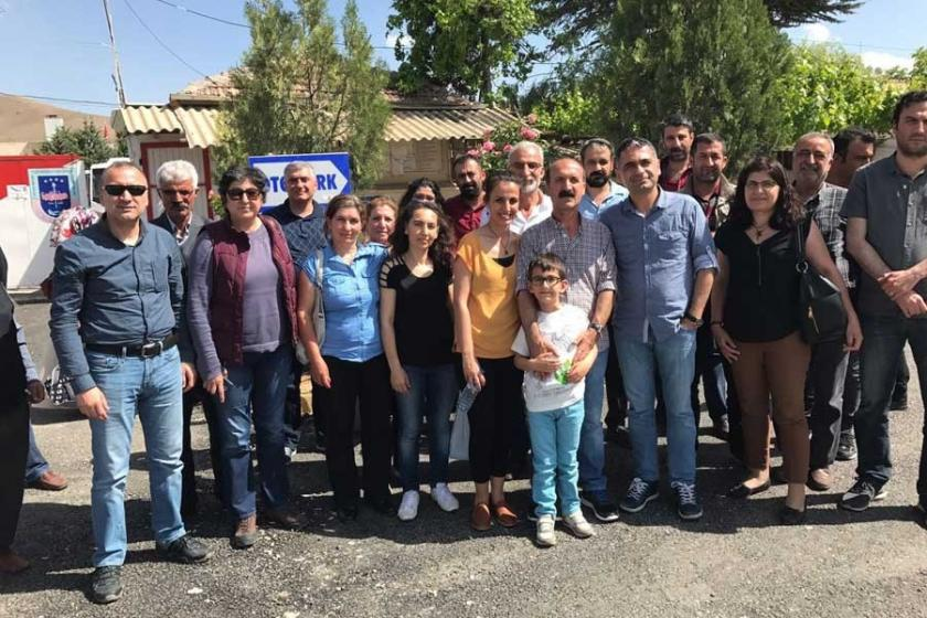 EMEP Dersim İl Başkanı Mustafa Taşkale tahliye edildi