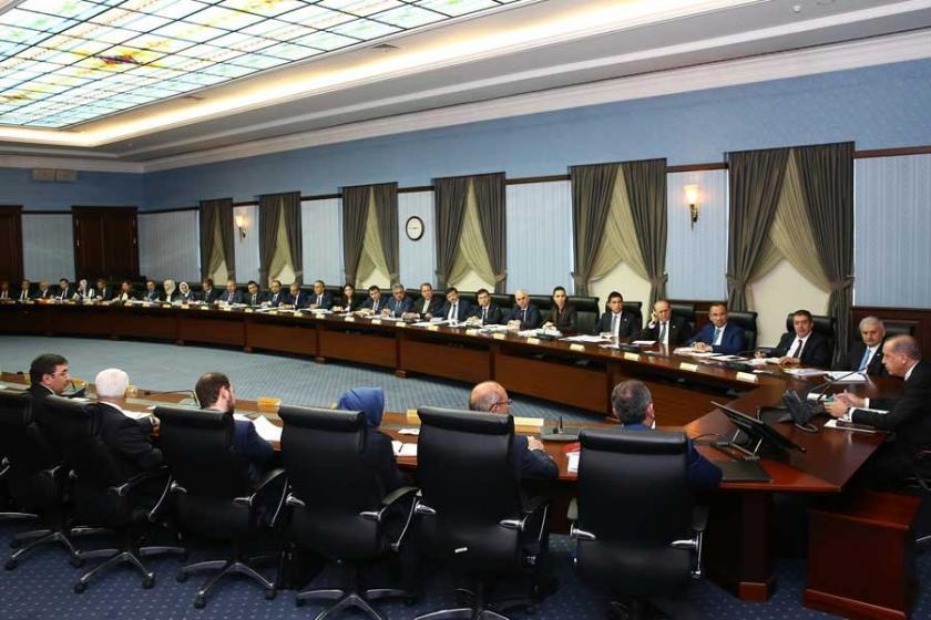AKP MKYK, Erdoğan başkanlığında toplandı
