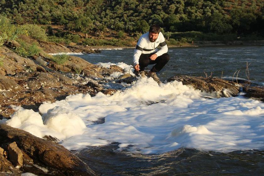 Bafa gölü yaşam mücadelesiveriyor