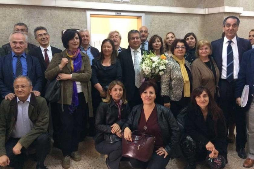 Urfa'ya sürgün edilen Mustafa Karadağ'a dayanışma ziyareti