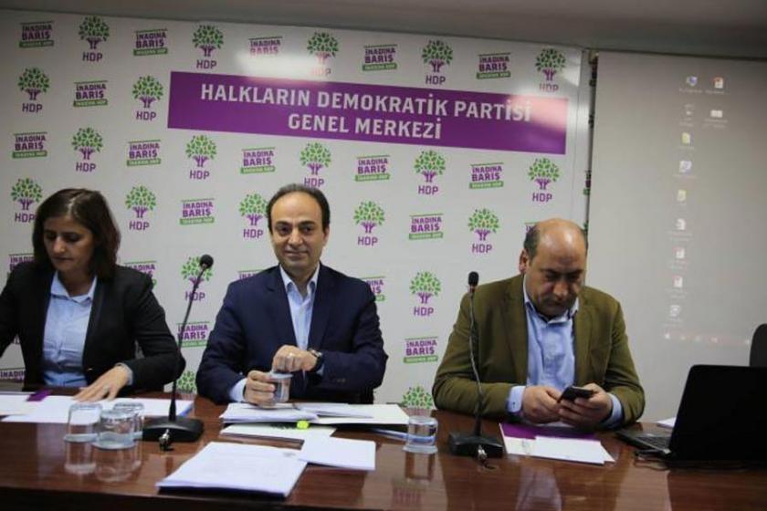 HDP'de görev dağılımı