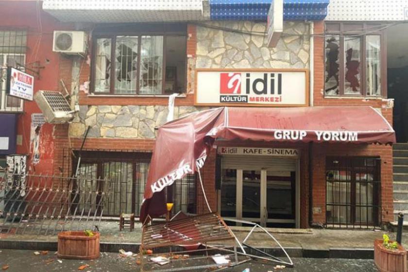 İdil Kültür Merkezi'ne polis baskını:11 gözaltı