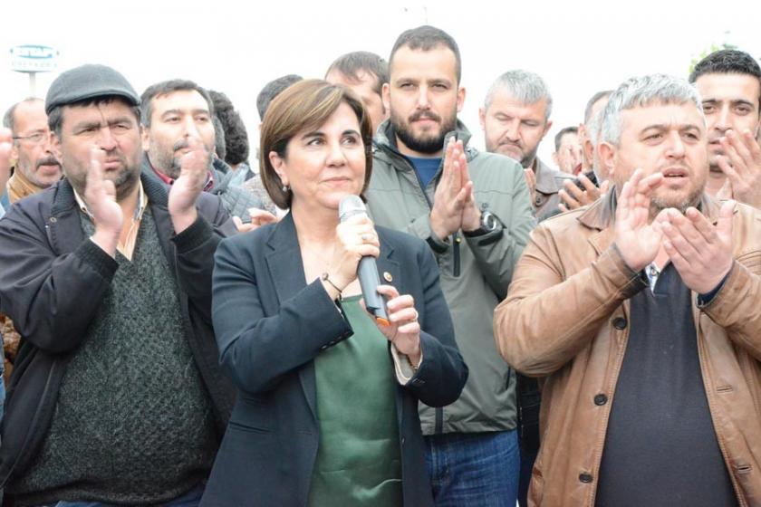 CHP'li Gaye Usluer'den cam işçisine destek