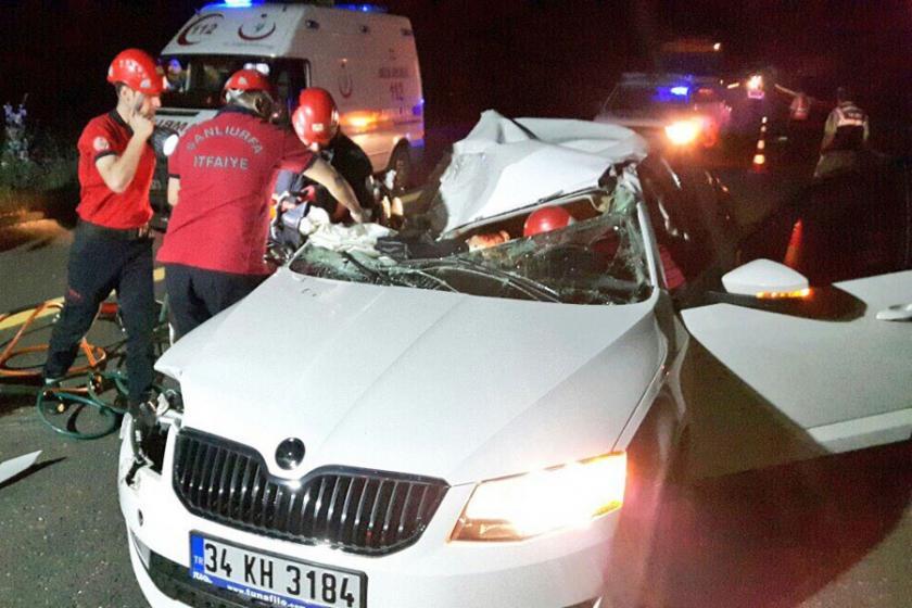 TIR ile otomobil çarpıştı:1 ölü, 1 yaralı