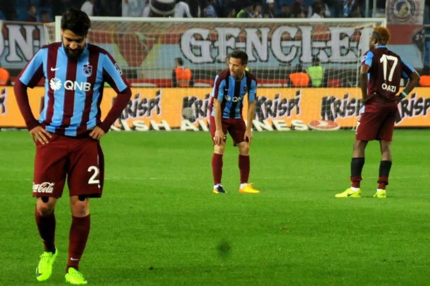 Trabzonspor düşüşte