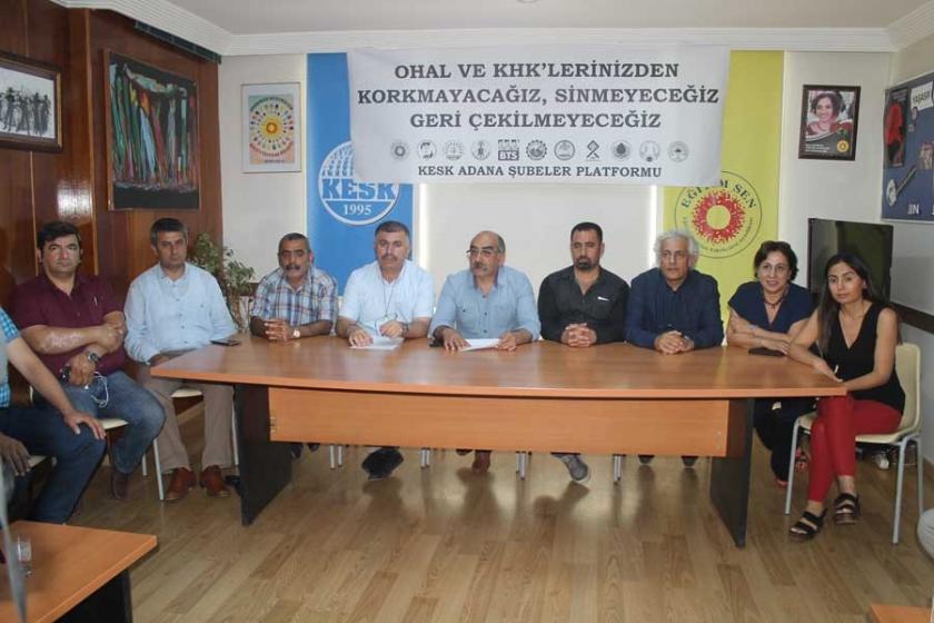 Basın açıklamalarına OHAL soruşturması
