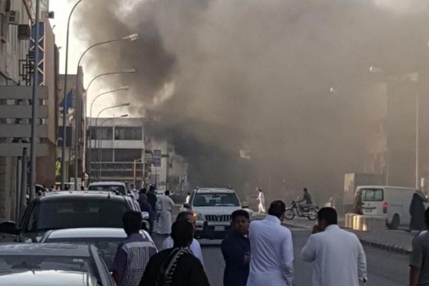 Suudi Arabistan'da patlama: 2 ölü