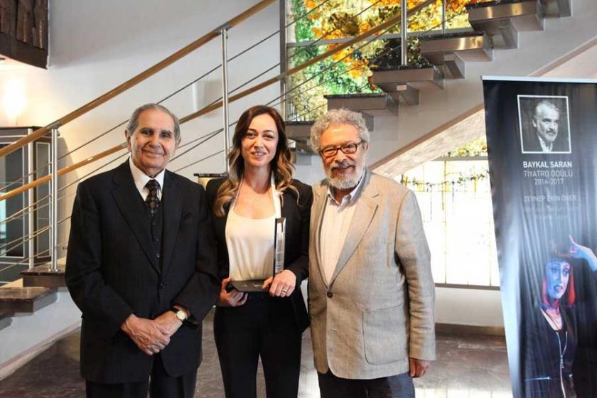 Baykal Saran Ödülü Öner'in