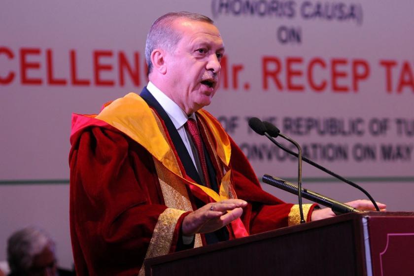 Cumhurbaşkanı Erdoğan, 3 üniversiteye rektör atadı
