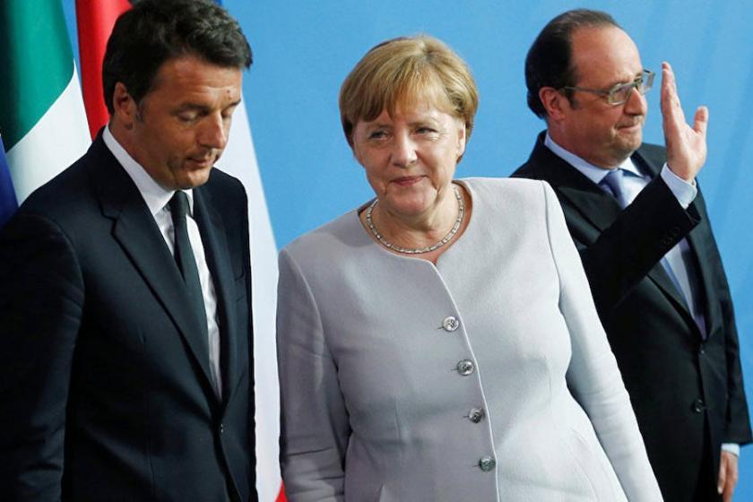 İtalya, Fransa ve Almanya'dan ABD'ye ortak tepki