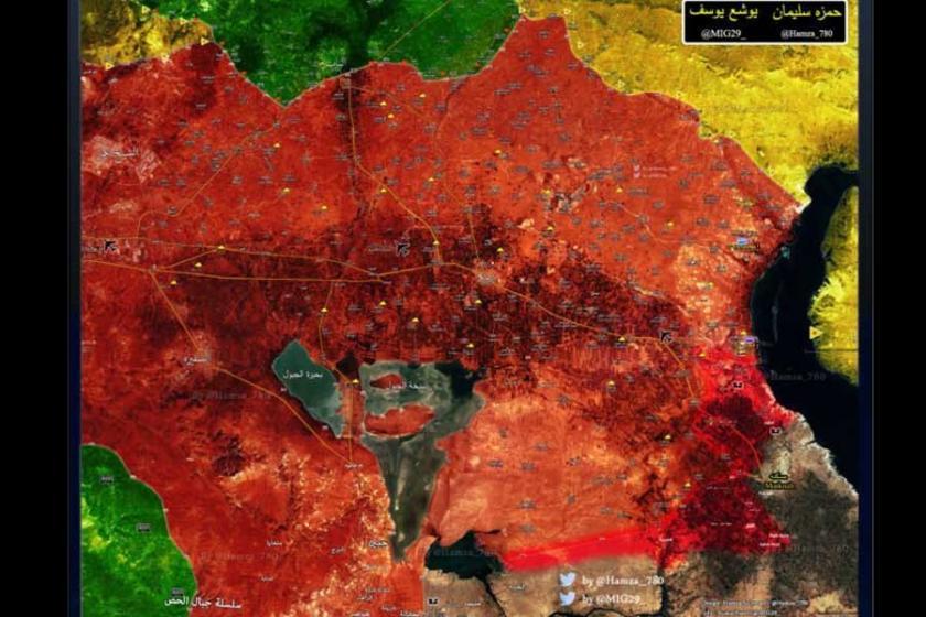 IŞİD, Halep'in doğu kırsalında kapana kısıldı