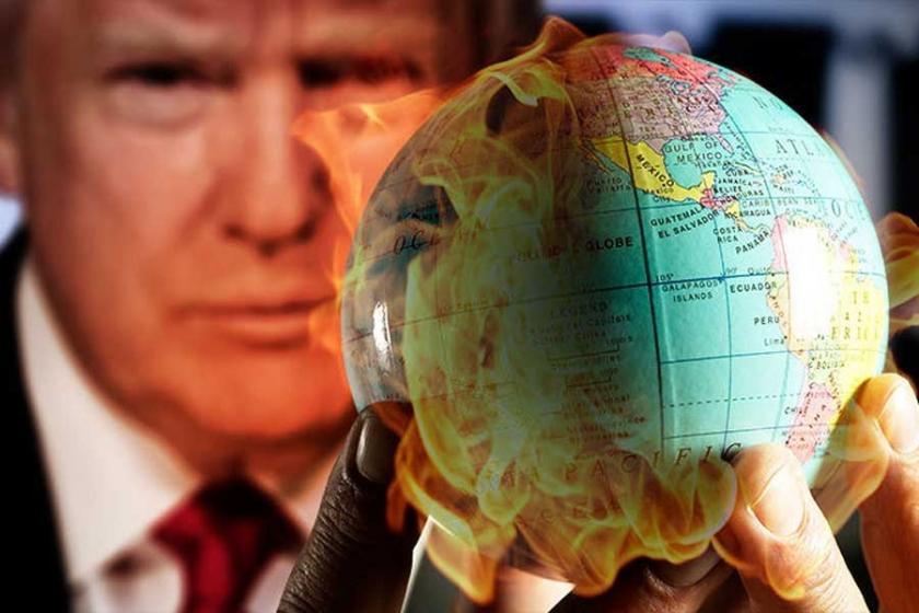 Trump'a 'küresel' tepki