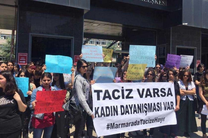 Marmara Üniversitesinden taciz açıklaması