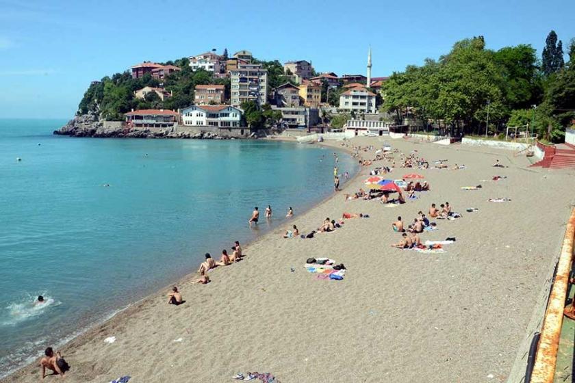 Zonguldak'ta deniz sezonu açıldı