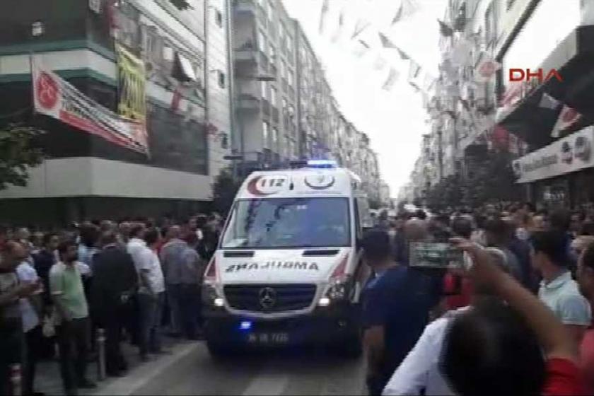 Güngören'de silahlı saldırı: 1 ölü, 7 yaralı