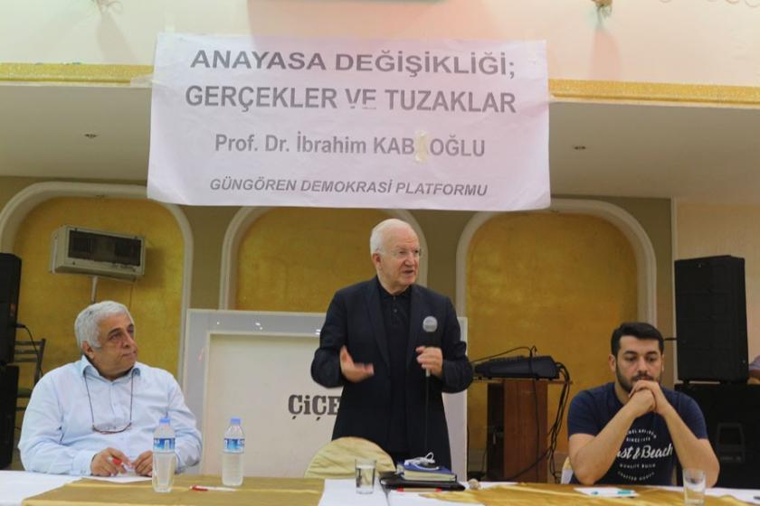 Prof. Dr. İbrahim Kaboğlu: Türkiye'de anayasal kaos var