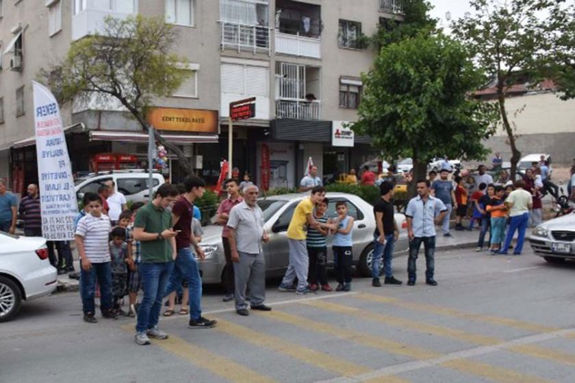 Mahalleliyi isyan ettiren kaza