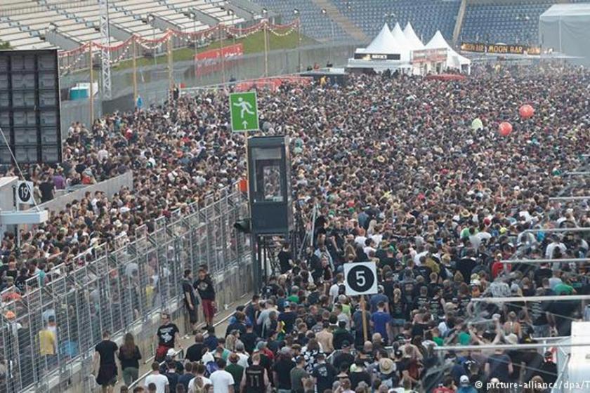Terör tehdidinin ardından Rock am Ring'e devam edilecek