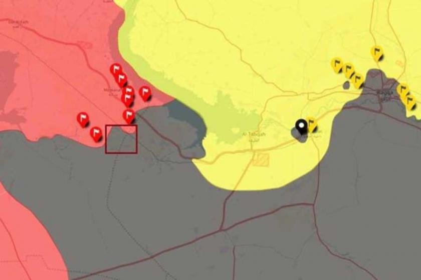 Suriye ordusu, Rakka vilayet sınırına giriş yaptı