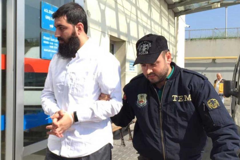 IŞİD'li Halis Bayancuk, adliyeye sevk edildi