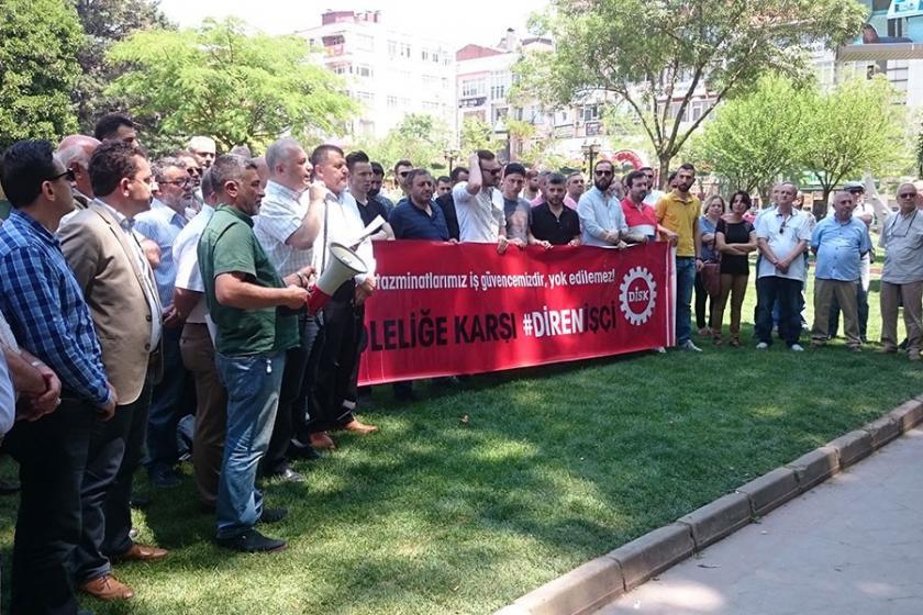 DİSK:Kıdem tazminatı haktır, gasbedilemez!