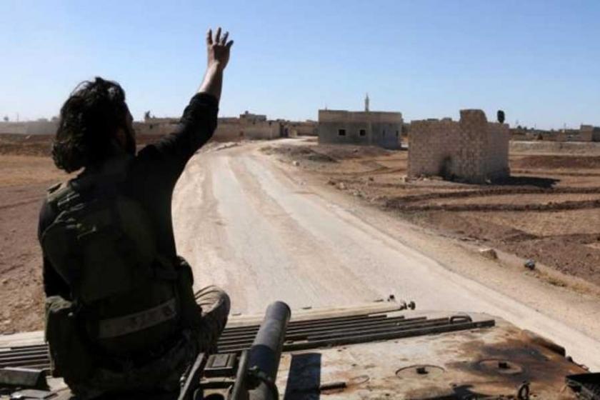 Halep'in kuzeyinde cihatçılardan YPG'ye saldırı