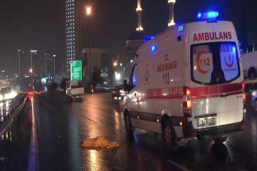 TEM'de karşıya geçerken otomobil çarpan Suriyeli çocuk öldü