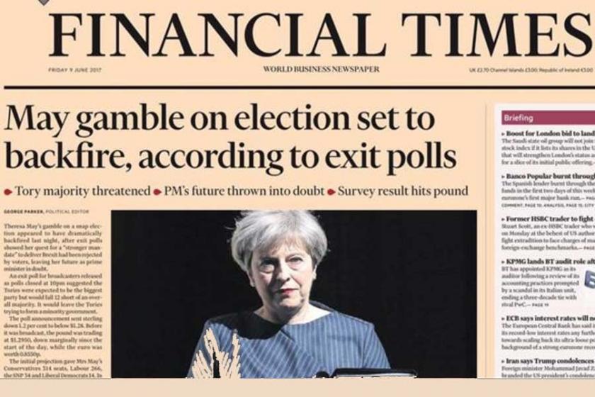 İngiltere basını: Theresa May oynadığı kumarı kaybetti