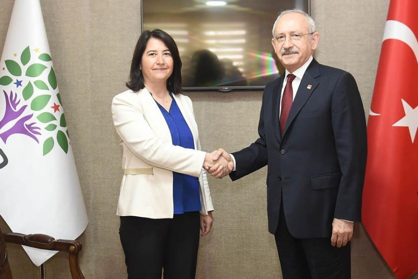 Kemal Kılıçdaroğlu, HDP Genel Merkezini ziyaret etti