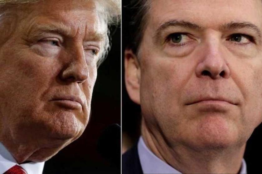 Trump Comey'i Senato'ya yalan söylemekle suçladı