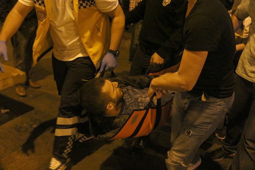Beyoğlu'da silahlı kavga: 1 ölü, 1 yaralı
